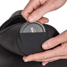 miggo agua lens cover pocket