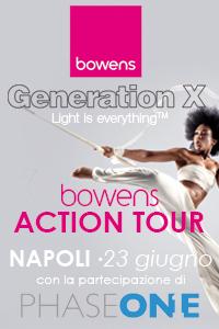 Bowens Action Tour a Napoli il 23 giugno